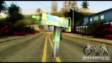 Brasileiro Micro Uzi для GTA San Andreas