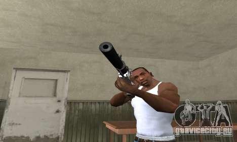 Black Lines Rifle для GTA San Andreas второй скриншот