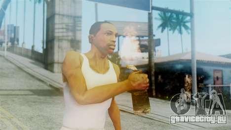 Red Dead Redemption Molotov для GTA San Andreas третий скриншот