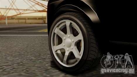 GTA 5 Enus Super Diamond для GTA San Andreas вид сзади слева