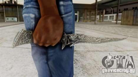 Ebony Dagger для GTA San Andreas третий скриншот