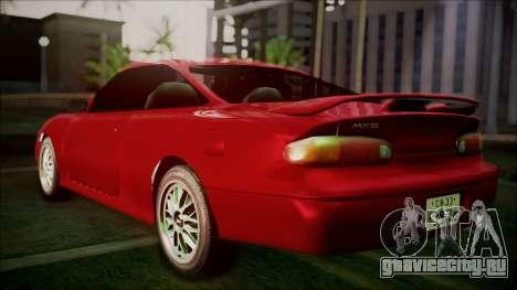 Mazda MX-6 (GE5S) для GTA San Andreas вид слева