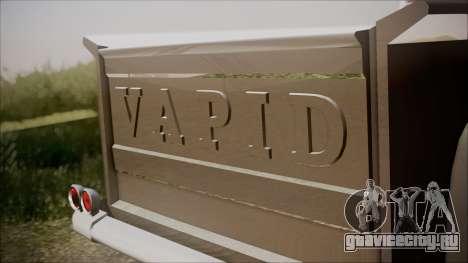 GTA 5 Vapid Slamvan Pickup IVF для GTA San Andreas вид сзади