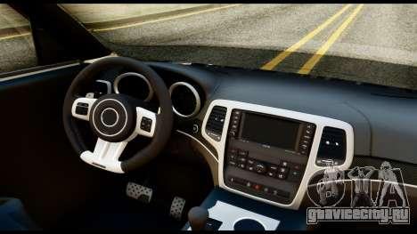 Infiniti QX56 Final для GTA San Andreas вид справа