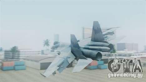 Sukhoi SU-33 Flanker-D для GTA San Andreas вид слева