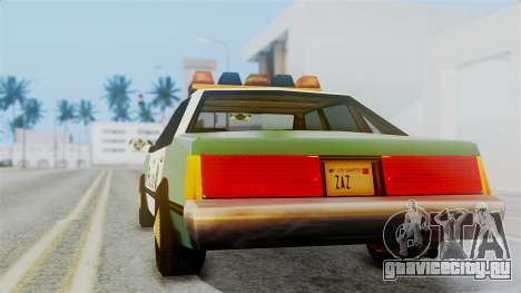 SAPD Cruiser для GTA San Andreas вид слева