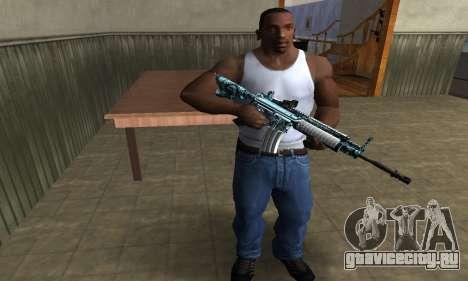 Auto M4 для GTA San Andreas второй скриншот