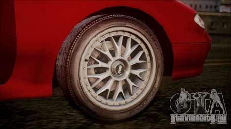 Mazda MX-6 (GE5S) для GTA San Andreas вид сзади