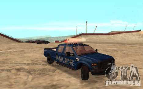 Ford F-250 Incident Response для GTA San Andreas