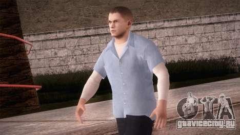 Michael Scofield Тюремная форма для GTA San Andreas