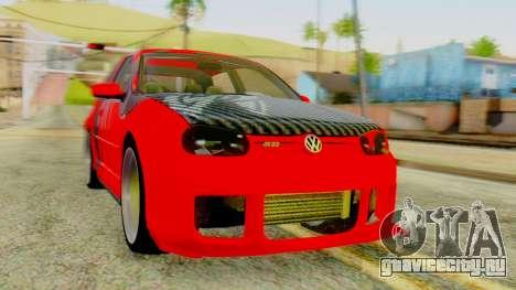 Volkswagen Golf R32 Edition Tribal для GTA San Andreas