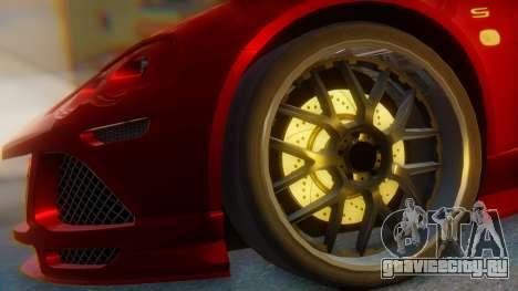 Lotus Europe S Wide для GTA San Andreas вид сзади слева