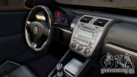 Volkswagen Golf R32 AirQuick для GTA San Andreas вид справа
