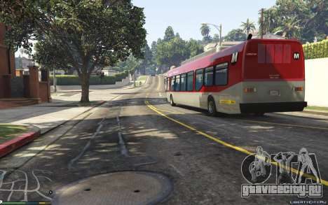 New Bus Textures v2 для GTA 5 вид сзади