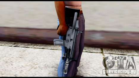 MK16 PDW Advanced Quality v2 для GTA San Andreas третий скриншот