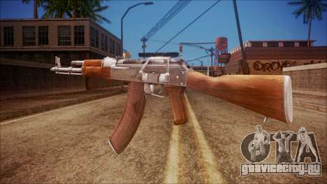 AK-47 v3 from Battlefield Hardline для GTA San Andreas второй скриншот
