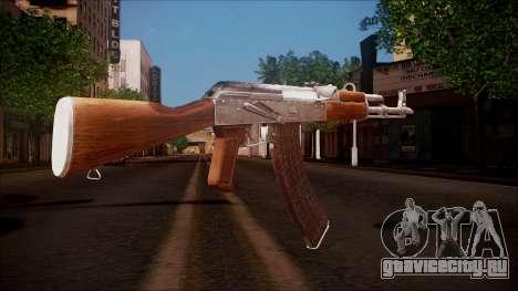 AK-47 v8 from Battlefield Hardline для GTA San Andreas второй скриншот