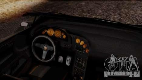 Pegassi Zentorno Cabrio v2 для GTA San Andreas вид справа