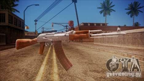 AK-47 v3 from Battlefield Hardline для GTA San Andreas
