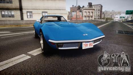 Chevrolet Corvette ZR1 1970 [EPM] для GTA 4