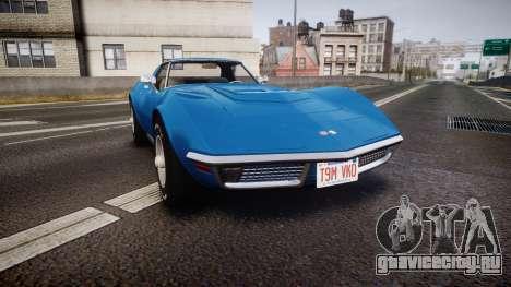 Chevrolet Corvette ZR1 1970 [EPM] для GTA 4