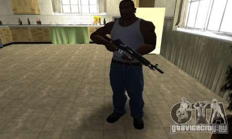 Modern Black Rifle для GTA San Andreas третий скриншот