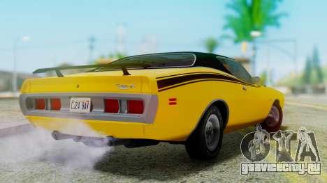 Dodge Charger Super Bee 426 Hemi (WS23) 1971 для GTA San Andreas вид слева