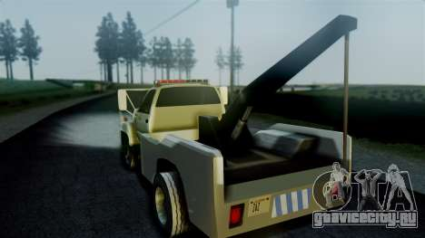 GMC Topkick Towtruck для GTA San Andreas вид слева