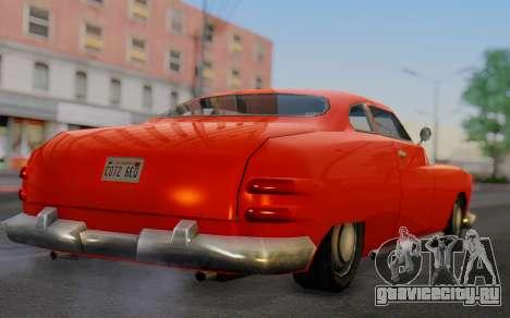 Dundreary Hermes для GTA San Andreas вид слева