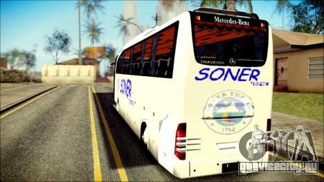 Mercedes-Benz Travego Soner Turizm для GTA San Andreas вид слева