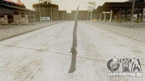 Ebony Dagger для GTA San Andreas