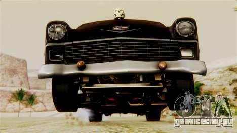 Chevrolet Bel Air 1956 Rat Rod Street для GTA San Andreas двигатель