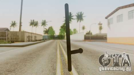 Police Baton from Silent Hill Downpour v1 для GTA San Andreas второй скриншот