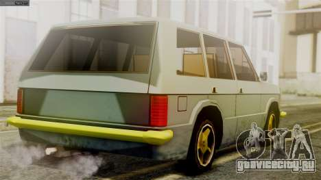 Huntley New Edition для GTA San Andreas вид слева