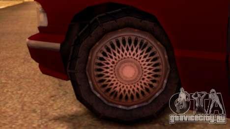 Premier Pickup для GTA San Andreas вид сзади слева