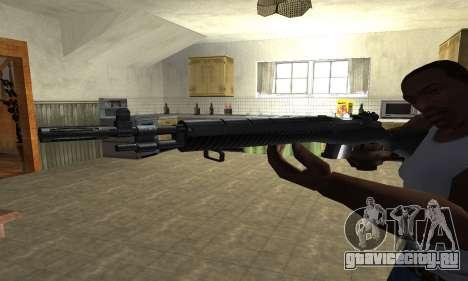 Modern Black Rifle для GTA San Andreas второй скриншот