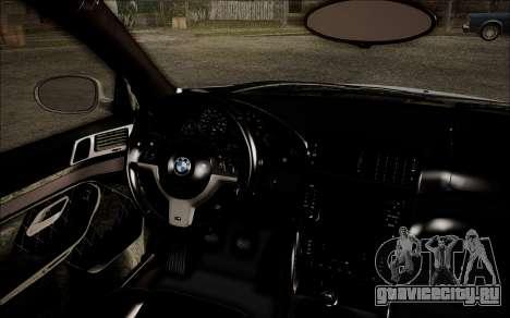 BMW M5 E39 E-Design для GTA San Andreas вид справа