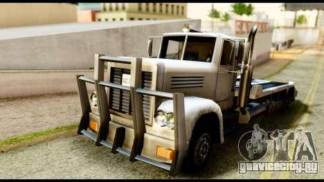 Packer Style DFT-30 для GTA San Andreas вид сзади слева