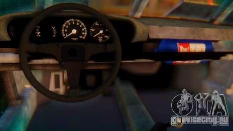 Porsche 911 Death Race для GTA San Andreas вид сзади слева