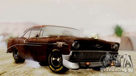 Chevrolet Bel Air 1956 Rat Rod Street для GTA San Andreas