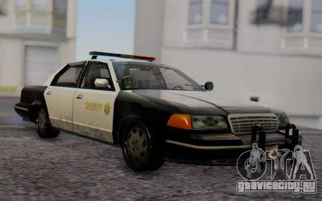 Ford Crown Victoria Sheriff для GTA San Andreas