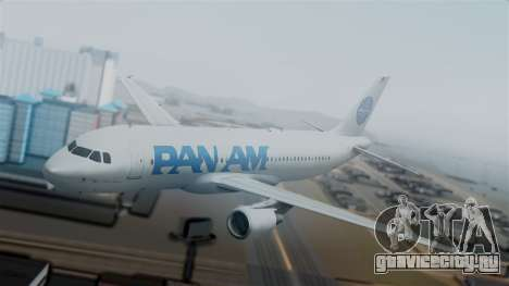 Airbus A320-200 Pan American World Airlines для GTA San Andreas