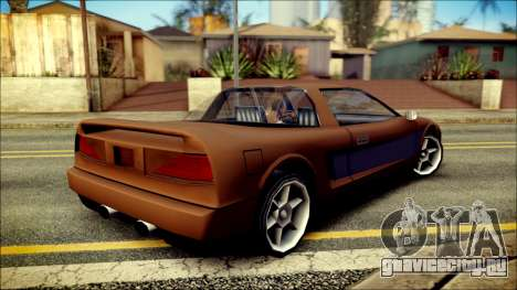 Infernus New Edition для GTA San Andreas вид слева