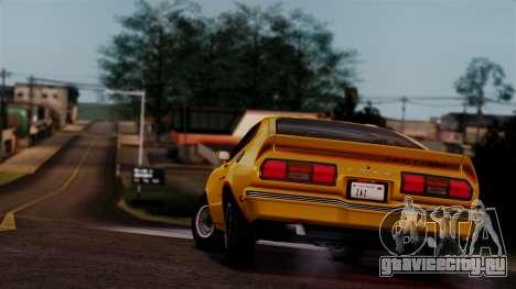 Ford Mustang King Cobra 1978 для GTA San Andreas двигатель