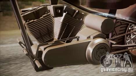 LCC Hexer GTA 5 IVF для GTA San Andreas вид сзади слева