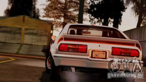 Ford Mustang King Cobra 1978 для GTA San Andreas вид слева