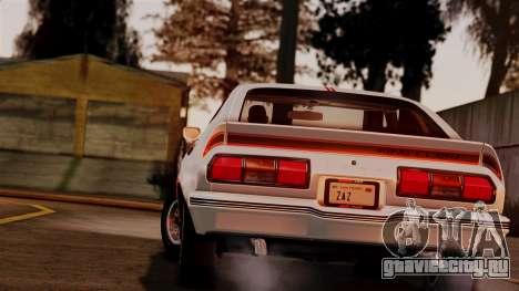 Ford Mustang King Cobra 1978 для GTA San Andreas вид слева