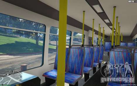 New Bus Textures v2 для GTA 5 вид справа