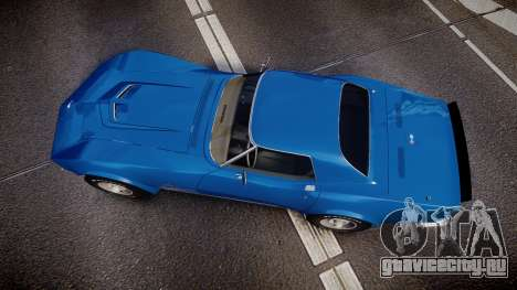 Chevrolet Corvette ZR1 1970 [EPM] для GTA 4 вид справа