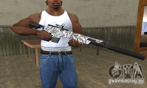 Black Lines Rifle для GTA San Andreas
